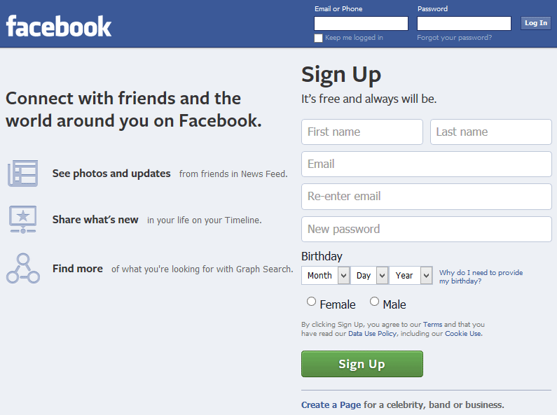 How To Register Facebook Account Without Phone Number